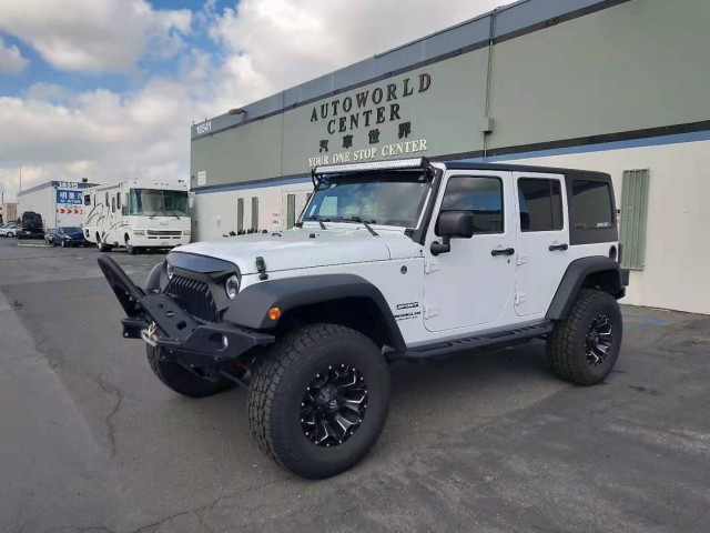 2016 Jeep Wrangler Unlimited 4D SUV Sport